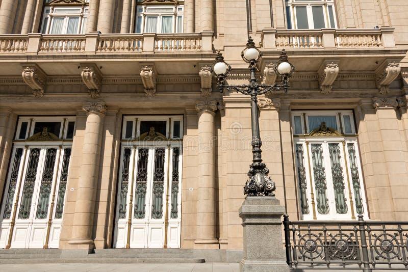 Dos puntos de Teatro, ópera de Buenos Aires Argentinien fotos de archivo