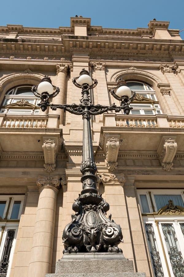 Dos puntos de Teatro, ópera de Buenos Aires Argentinien foto de archivo libre de regalías