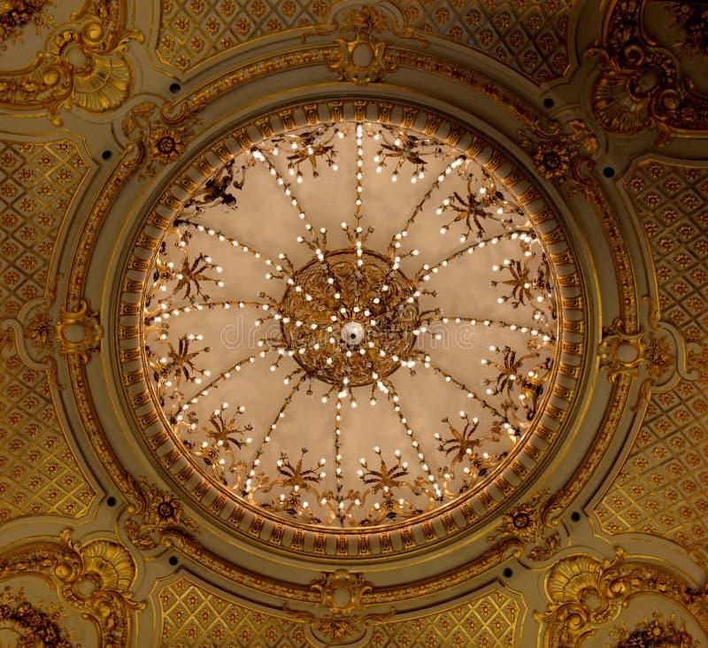 Dos puntos de Teatro, Buenos Aires, la Argentina imagen de archivo libre de regalías
