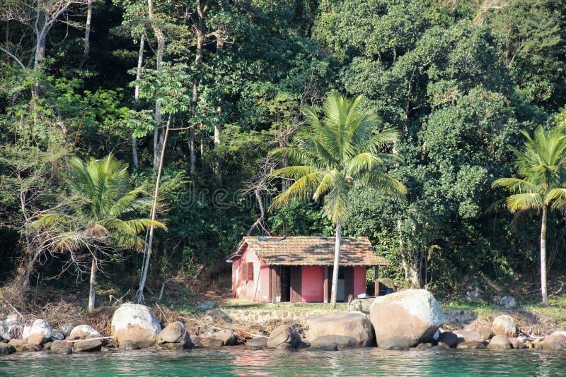 DOS Reis et Ilha d'Angra grands sont les destinations de touristes en Rio de Janeiro photo stock