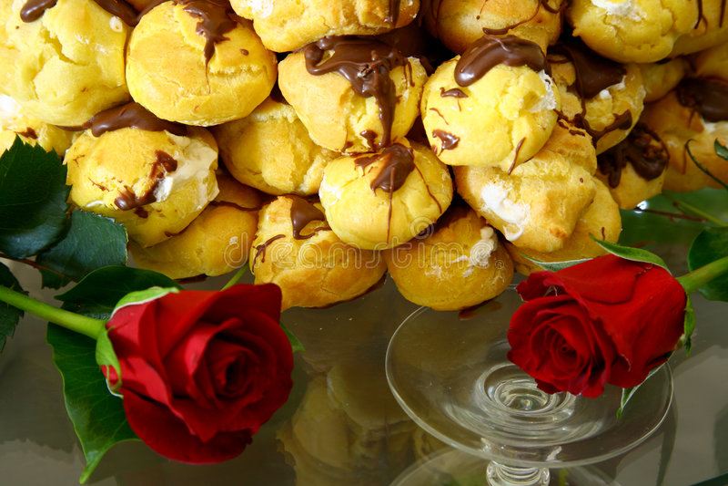 Dos rosas foto de archivo