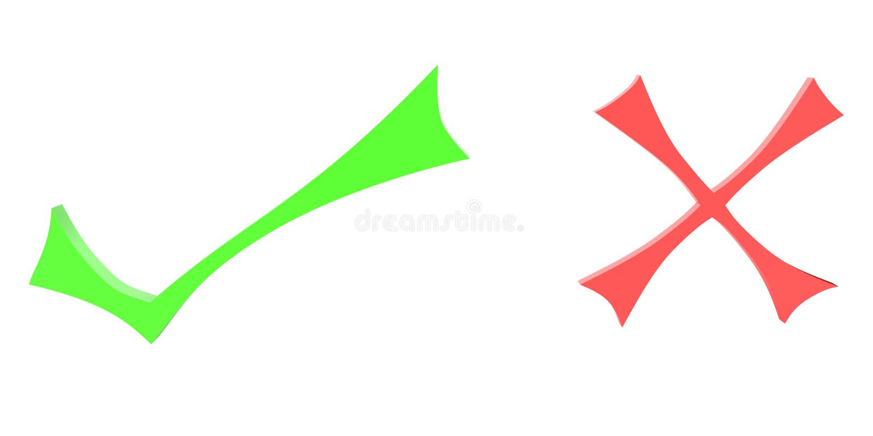 Dos símbolos ilustración del vector