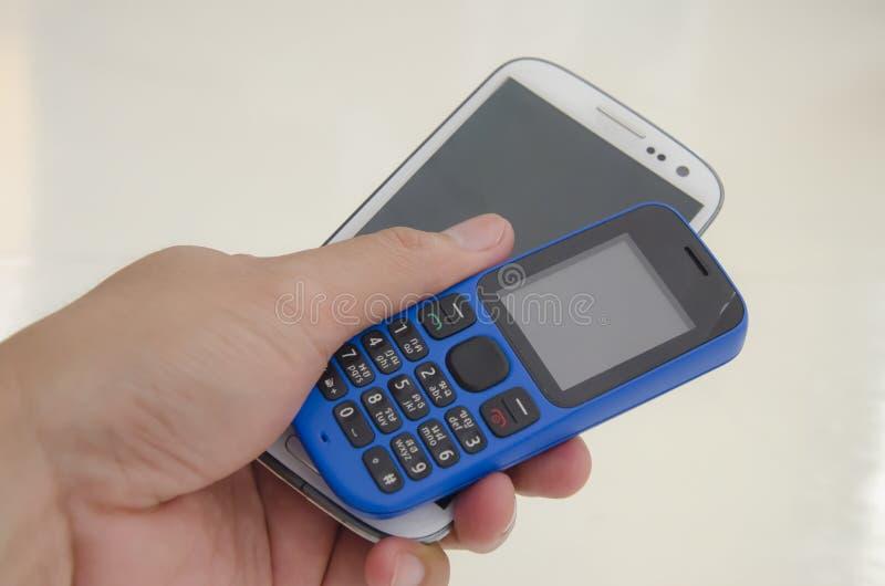 Download Dos teléfonos móviles imagen de archivo. Imagen de comunicación - 41916119