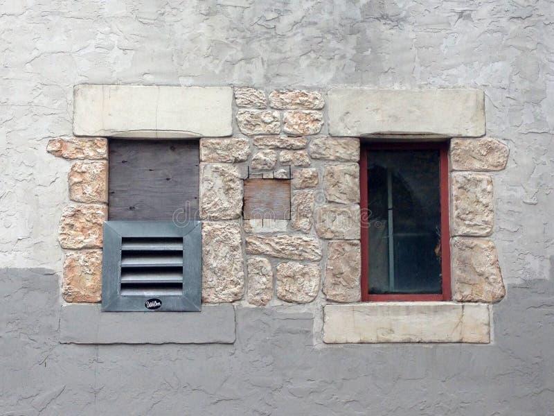 Dos ventanas fotografía de archivo
