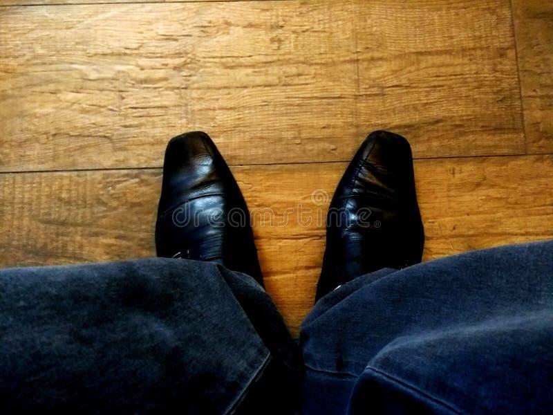 Dos zapatos foto de archivo
