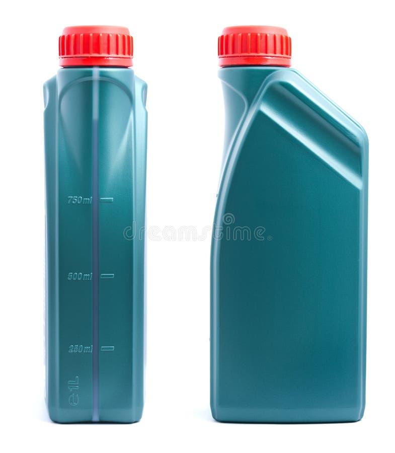 Dose des Schmieröls zwei lizenzfreie stockbilder