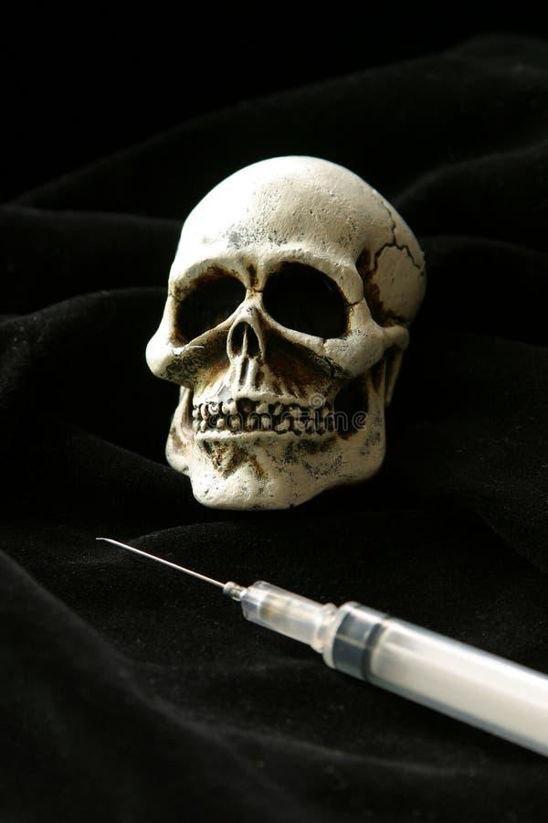 Dose mortelle de la mort images stock