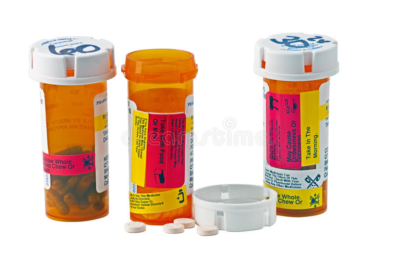 Dose quotidienne de médecine images stock