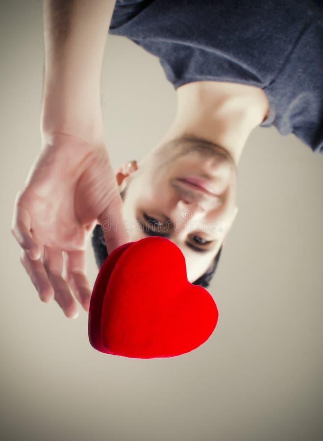 Dosięgać dla miłości zdjęcie stock