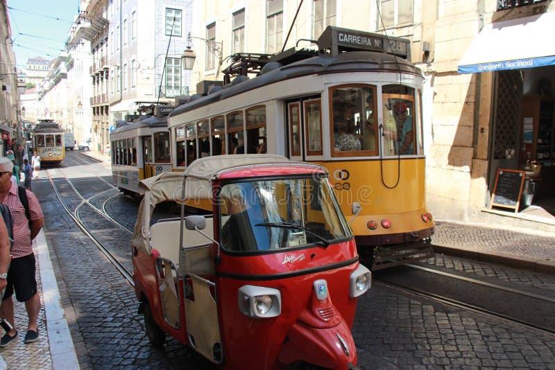 Dosis von Lissabon stockfoto