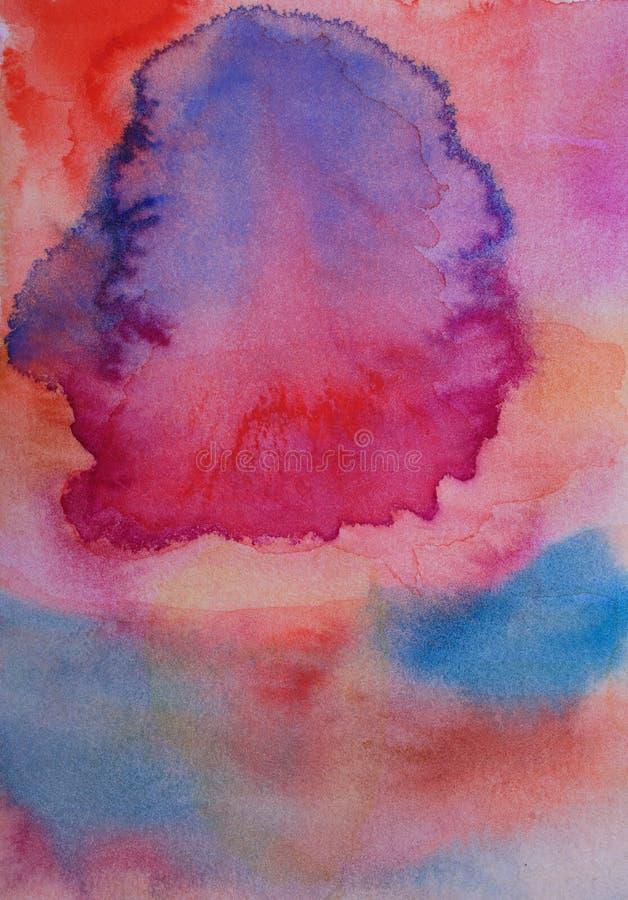 Doskonałe tło namalowane ręcznie obrazy royalty free