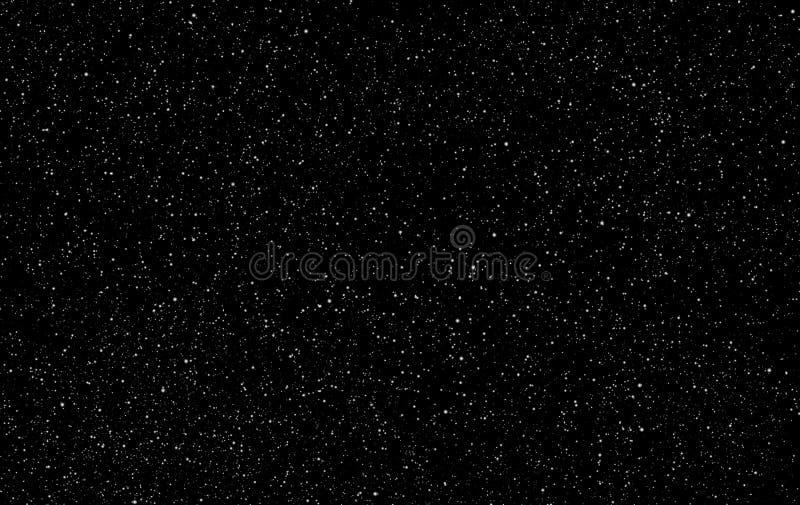 Doskonalić gwiaździstego nocnego nieba tło - kosmosu wektoru backgro royalty ilustracja