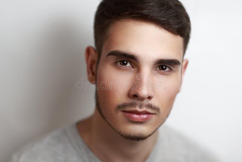 Doskonalić mężczyzna fotografia royalty free
