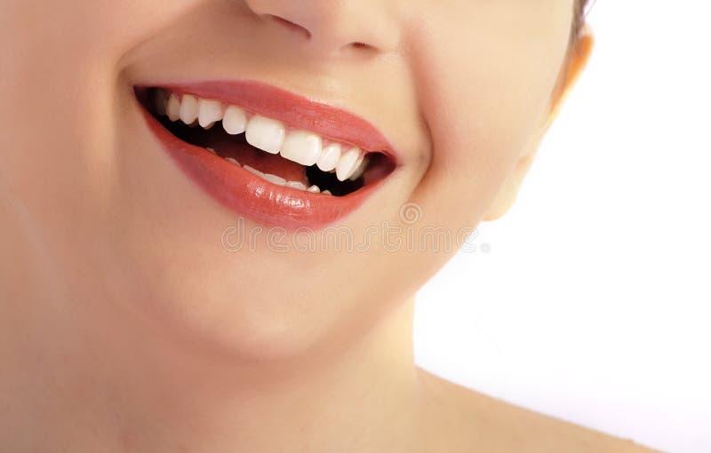 doskonalić uśmiech fotografia stock