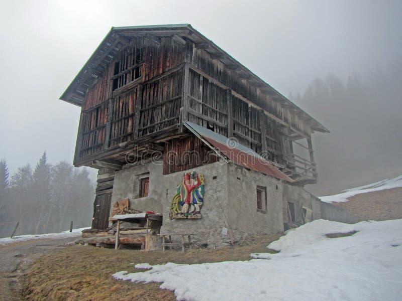 Dosoledo oud huis stock foto