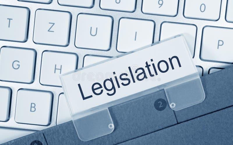 Dossier de législation sur le clavier d'ordinateur photo libre de droits