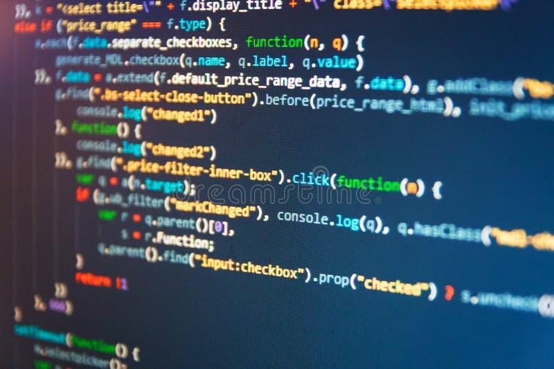 Dossier de point d'émission de données de PHP L'optimisation de moteur de recherche pour de meilleurs rangs avec l'ancre étiquett images stock