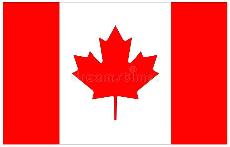 dostępne Canada flagi okulary stylu wektora ilustracji