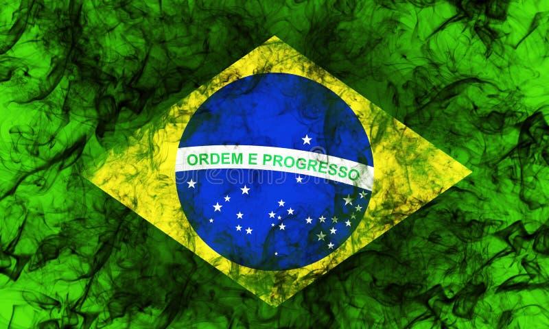 dostępne flagi Brazylijskie okulary stylu wektora obrazy royalty free