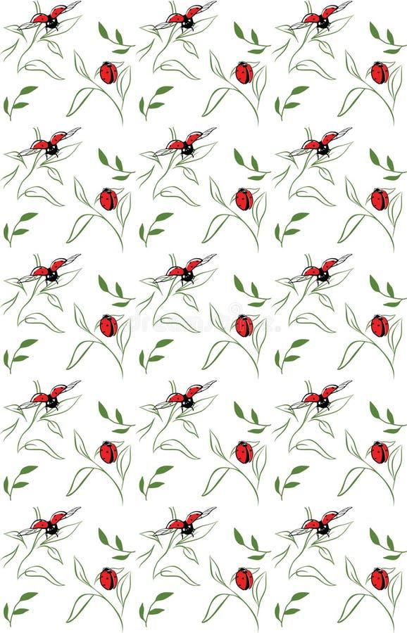 dostępnego tła czerń błękitny dorośnięcia liść wzoru czerwonej wiosna lampasy vector biały szerokiego obrazy royalty free