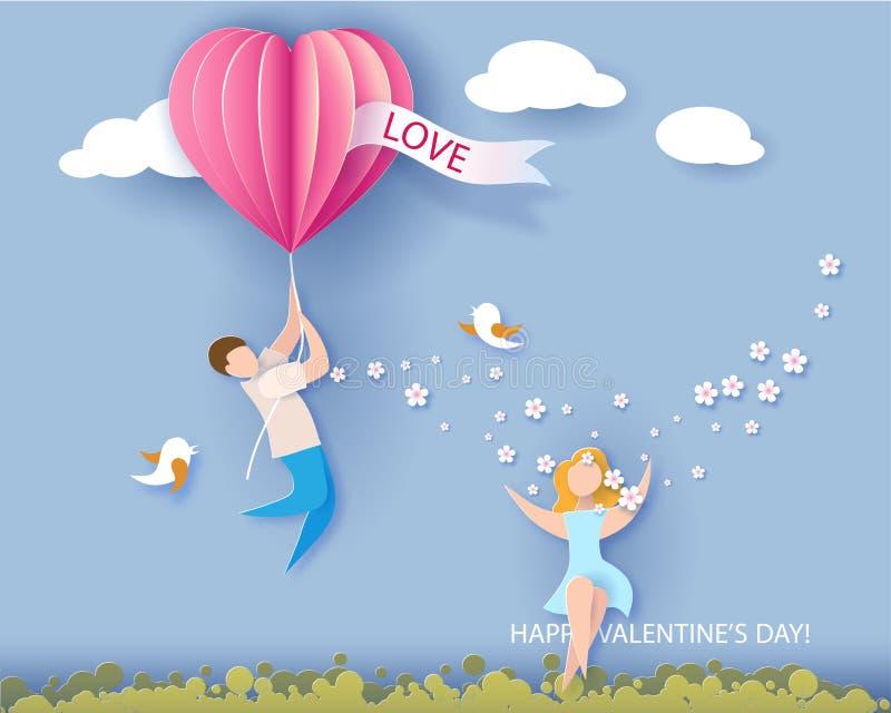 dostępny karciany dzień kartoteki valentines wektor ilustracja wektor