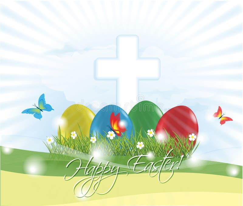 dostępny karciany Easter eps kartoteki powitanie ilustracji