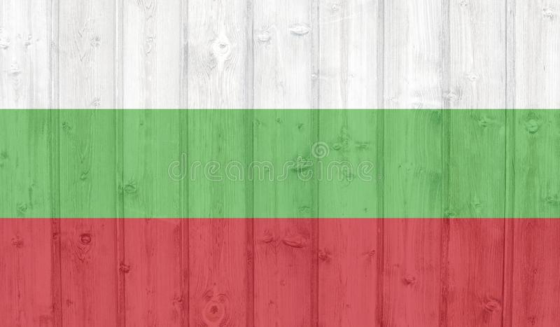 dost?pne Bulgari flagi okulary stylu wektora ilustracja wektor