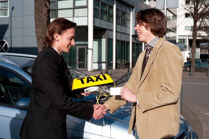 dostawać licencja taxi zdjęcia stock