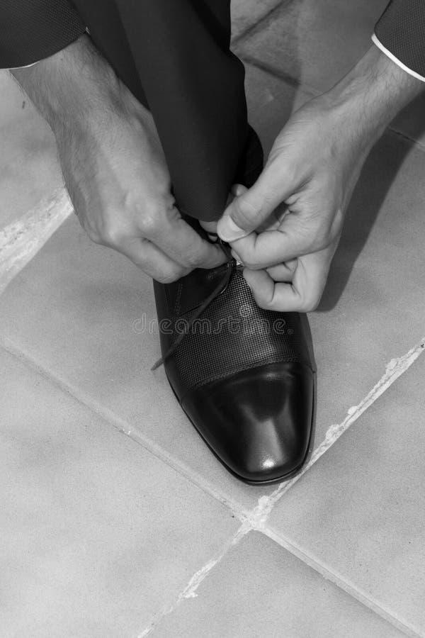 dostawać przygotowywającego ślub obrazy stock