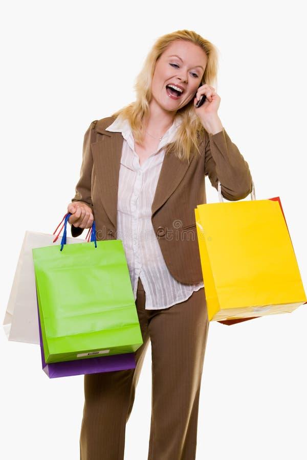 dostawać wielkiej ceny sprzedaży kobiety obrazy stock