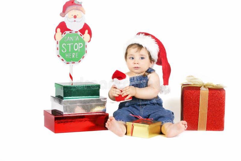 dostawa jest Santa fotografia royalty free