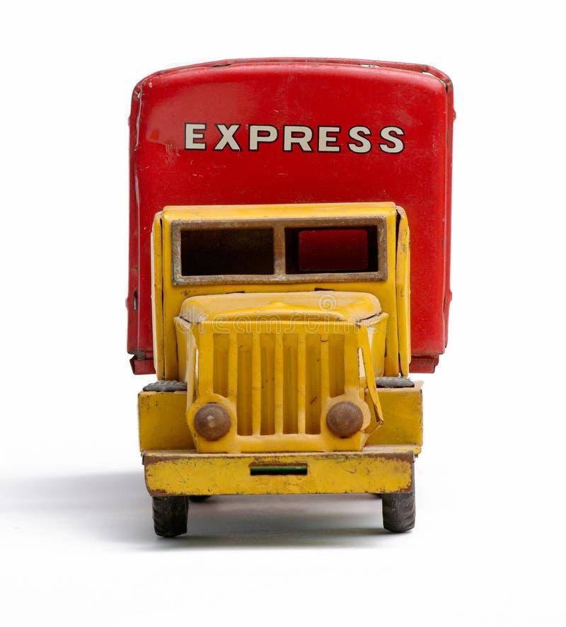 dostawy zabawki ciężarówka fotografia royalty free