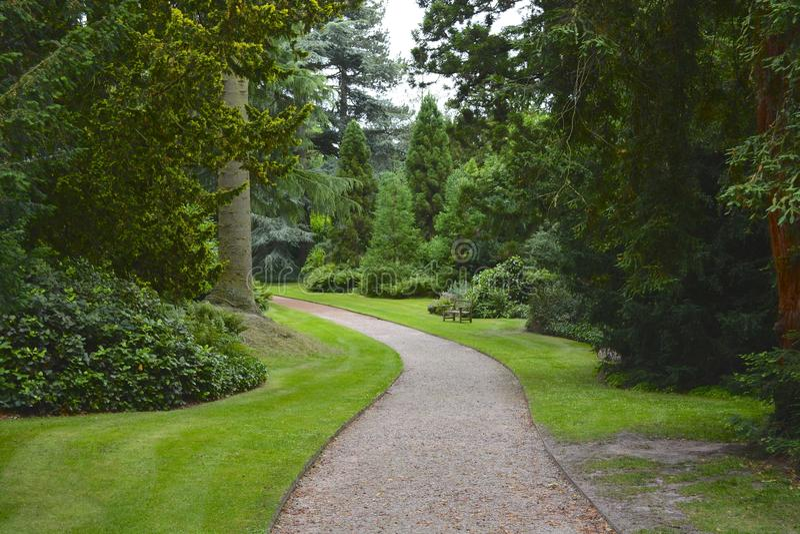 Dostojny domu ogród obrazy royalty free