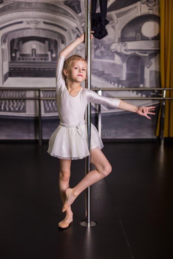 Dosyć mały tancerz zdjęcie stock