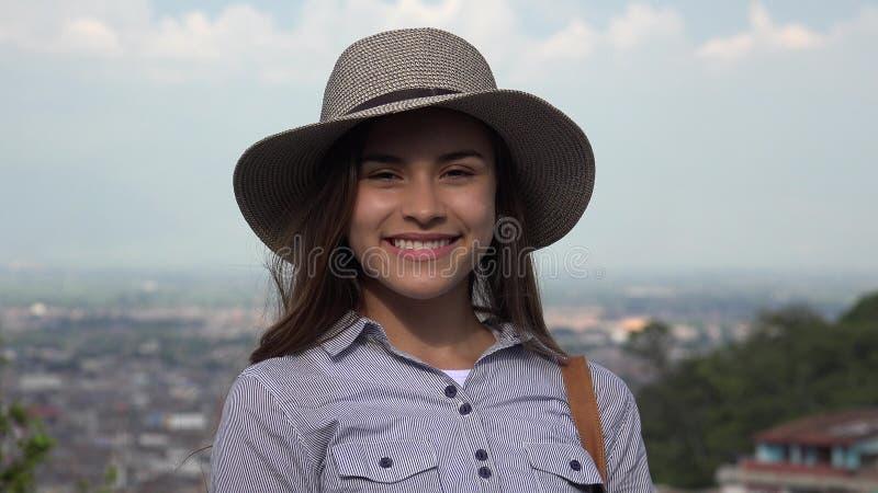 Dosyć Nastoletnia Latynoska dziewczyna zdjęcia royalty free