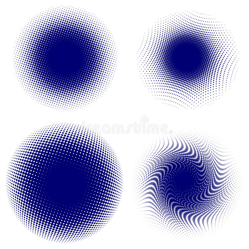 Dot background vector illustration