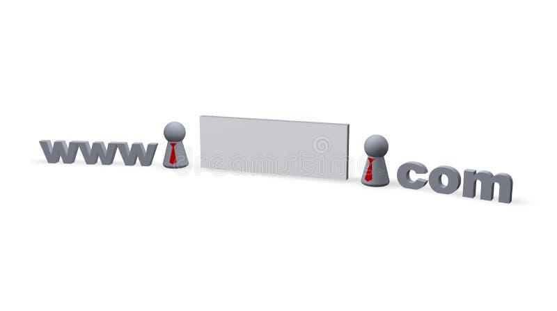 Download Dot com stock illustration. Illustration of virus, homepage - 1446249