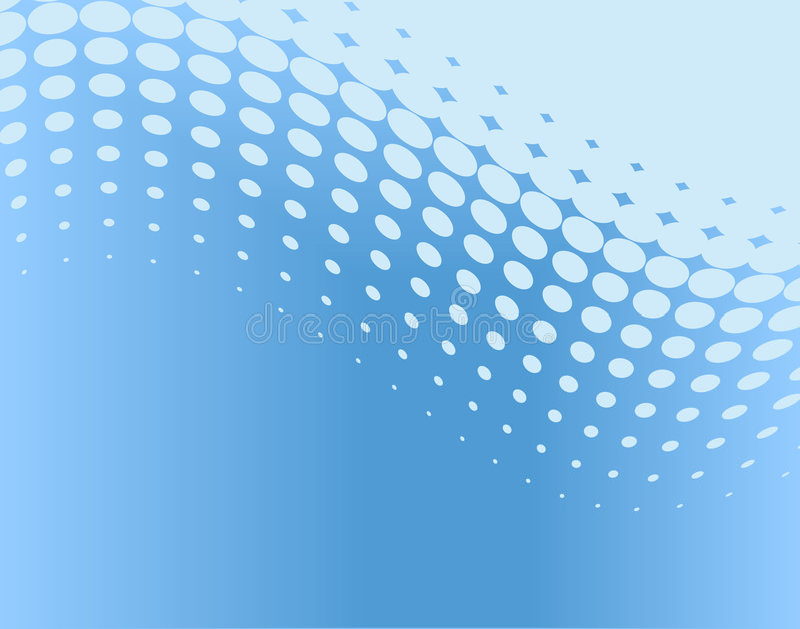 Dot curve vector illustration