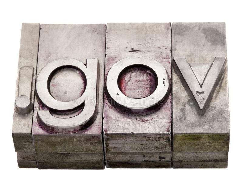 Download Dot Gov - Government Internet Domain Royalty Free Stock Photo - Image: 17765235