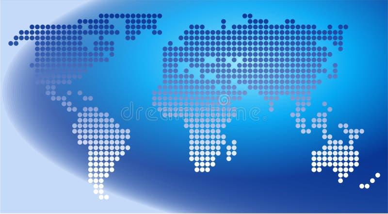 Download Dot Map stock illustration. Illustration of graphics, clipart - 153846