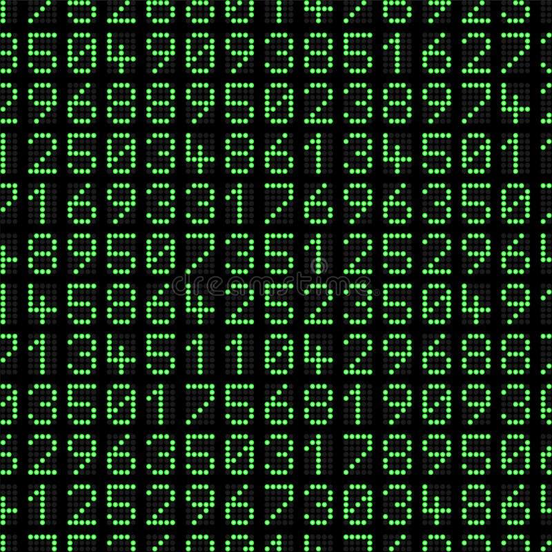 Dot Matrix Background royaltyfri illustrationer