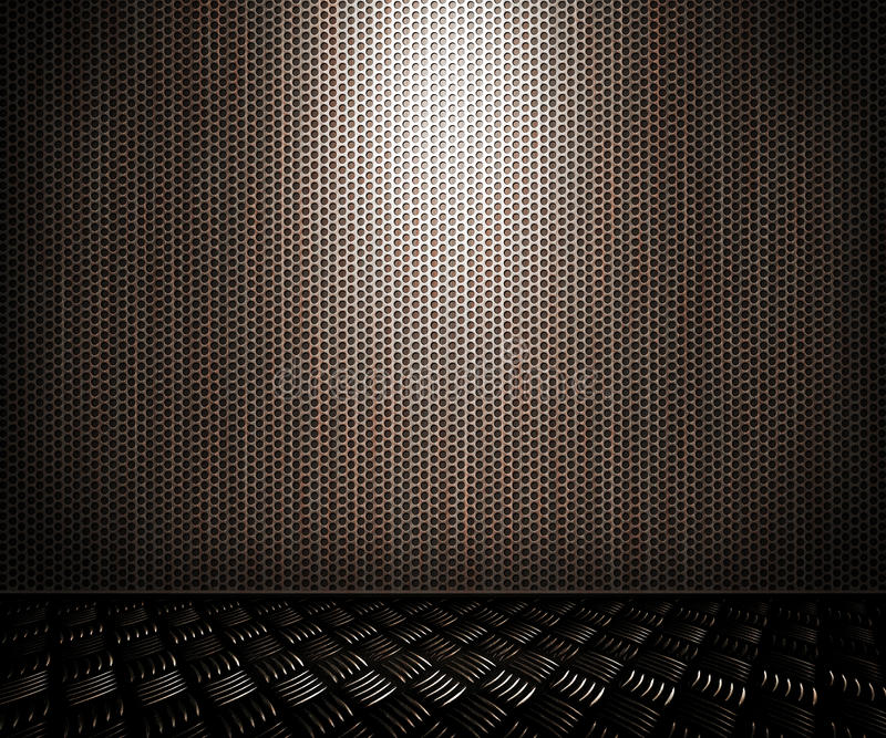Dot Metal Interior Background royalty free stock photography