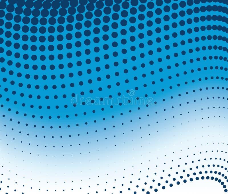 Dot pattern gradient stock illustration