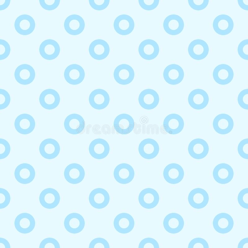 Dot pattern seamless sweet blue two tone colors. vector illustration
