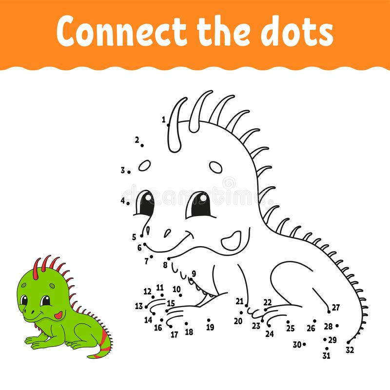 Dot to dot. Draw a line. Handwriting practice. Learning numbers for kids. Education developing worksheet. Activity coloring page. Game for toddler. Isolated stock illustration