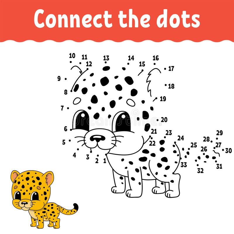 Dot To Dot. Draw A Line. Handwriting Practice. Learning Numbers For Kids.  Education Developing Worksheet. Activity Page. Game For Stock Vector -  Illustration Of Book, Activities: 140044318
