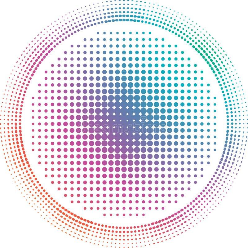 Doted vector illustratie