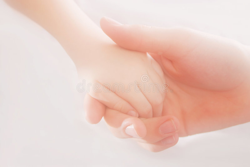dotknąć dłoni obrazy royalty free