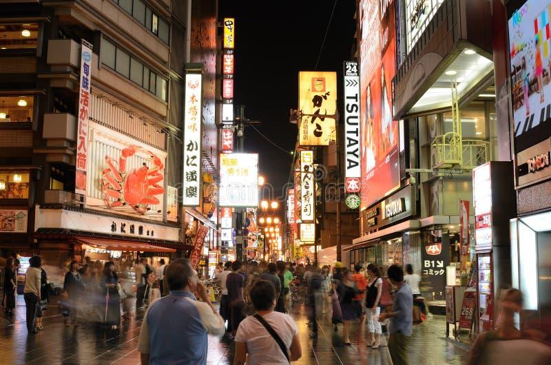 Dotonbori Осака стоковое фото rf