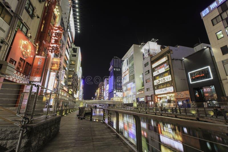 Dotonbori, Osaka, Japan royalty-vrije stock afbeelding